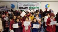 'Okuluma Yürürüm Sporumla Büyürüm' Projesinde Belgeler Dağıtıldı