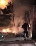 POLİS EKİPLERİ - Plastik Kasa Deposunda Çıkan Yangın Korkuttu