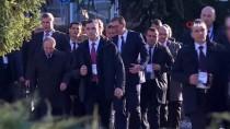 RESMİ KARŞILAMA - Rusya Devlet Başkanı Putin Sırbistan'da