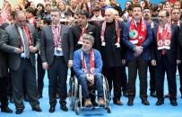 TEKERLEKLİ SANDALYE - Samsunspor Kazada Ölen Futbolcularını Unutmadı