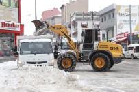METEOROLOJI - Şehir Merkezindeki Kar Temizliği Aralıksız Sürüyor