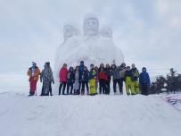 GÜMÜŞ MADALYA - Snowboard Apline 1. Etap Yarışmalarına Kayseri Damgası