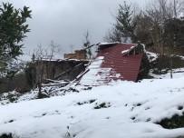 HASAR TESPİT - Trabzon'da Fırtınada Zarar Gören 226 Binada Hasar Tespit Çalışmaları Başladı