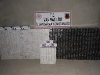 GÜLDEREN - Van'da 11 Bin 150 Paket Kaçak Sigara Ele Geçirildi