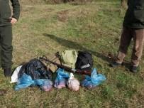 MUHALEFET - Vurdukları Karacayı Parçalayan Avcılar Suçüstü Yakalandı