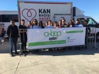 KAN BAĞıŞı - AHBAP Aydın'dan Kan Ve Kök Hücre Kampanyasına Destek