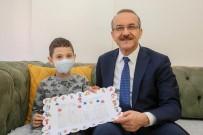 GEÇMİŞ OLSUN - ALL Hastası Çocuk, Karne Heyecanını Evinde Yaşadı