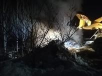 Bağ Evinde Yangın Çıktı