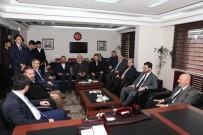 SİYASİ PARTİLER - Başkan Çolakbayrakdar Saadet Partisi'ni Ziyaret Etti