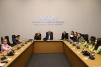 ARITMA TESİSİ - Başkan Toçoğlu, Öğrencilerle Bir Araya Geldi