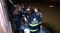 Çaya Düştüğü İddia Edilen Şahıs Polis Ekiplerini Harekete Geçirdi