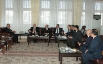 AÇIKÖĞRETİM FAKÜLTESİ - Halkbank Genel Müdürü Osman Arslan'dan Rektör Çomaklı'ya Ziyaret