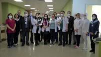 Hematolojiden Tedavi Gören Çocukların Karneleri Hastanede Verildi