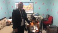 KAS HASTALIĞI - Kas Hastası Furkan'ın Odası Sınıfa Çevrildi, Karnesini Evinde Aldı