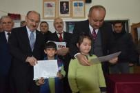 MİLLİ EĞİTİM MÜDÜRÜ - Kastamonu'da Öğrenciler Karnelerini Aldı