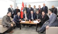 ERCIYES ÜNIVERSITESI - Kayseri Üniversitesi İle Mimarsinan OSB Arasında İşbirliği Ön Protokolü İmzalandı