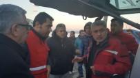 SOSYAL YARDIM - Kızılay'dan Amik Ovasında Su Basan Mahalleye Yardım