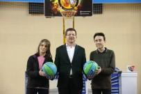 BİSİKLET YOLU - Merkezefendi'de 8. Sınıf Çocuklarına 5 Bin Basketbol Topu Dağıtıldı