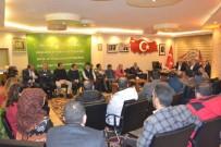 BASIN TOPLANTISI - Öz Büro İş Sendikası Genel Başkanı Gülbaba Erzurum'da