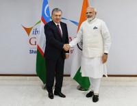 İŞ DÜNYASI - Özbekistan Cumhurbaşkanı Mirziyoyev Küresel Zirve İçin Hindistan'da