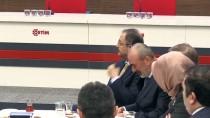 SPOR KOMPLEKSİ - Özhaseki Ostim OSB Yöneticileriyle Buluştu