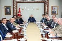 Seçim Güvenliği Toplantısı Vali Pehlivan Başkanlığında Gerçekleştirildi
