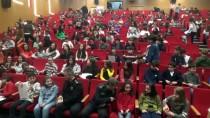 UZMAN ÇAVUŞ - Şehit Çocuklarına Karnelerini Emniyet Müdürü Ve Jandarma Komutanı Verdi