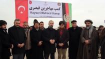 BAŞKONSOLOSLUK - TDV Afganistan'da 'Kayseri Muhacir Kampı' Kurdu