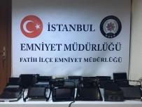ADLİ KONTROL - Araç Aksesuarı Çalan Çete Yakalandı