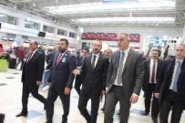 Bakan Ersoy, Antalya Havalimanı'nı İnceledi
