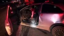 Bursa'da Otomobil Tıra Çarptı Açıklaması 1 Ölü, 1 Yaralı