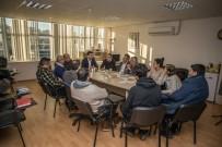 ÖZLEM ÇERÇIOĞLU - CHP Adayı Ömer Günel, Mimarlar Odası'nı Ziyaret Etti