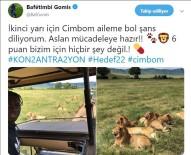 CIMBOM - Gomis'ten Galatasaray'a başarı mesajı