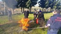 TOPRAK MAHSULLERI OFISI - İtfaiyeden Kurumlara Yangın Eğitimi
