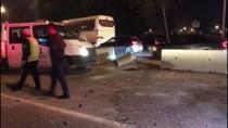 İzmir'de Trafik Kazası Açıklaması 2 Yaralı