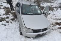 Kastamonu'da Siste Kontrolden Çıkan Otomobil Tarlaya Uçtu Açıklaması 3 Yaralı