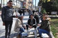 GÜNEŞLI - Kızıltepe'de 60 Günlük Yağışlardan Sonra Bahardan Kalma Günler Yaşanıyor