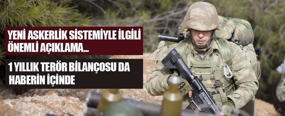 MSB, yeni askerlik sisteminde sona gelindiğini açıkladı