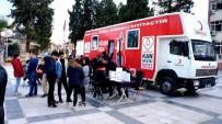KıZıLAY - Sarıgöl'de 110 Ünite Kan Toplandı
