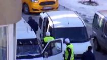 Sivas'ta Polis Aracına Çarpıp Kaçan Şüpheliler Yakalandı