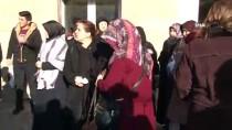 Sivas'ta Vefat Eden Polis Memuru, Meslektaşları Tarafından Uğurlandı