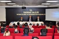 YATIRIMCI - Tekirdağ'da Yürütülen Projeler Tutarı 6 Milyar 350 Milyon TL