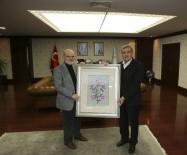 YÜCEL ÇELİKBİLEK - Başkan Aydın'dan Başkan Çelikbilek'e Ziyaret