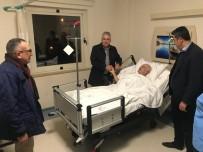 HALUK ŞIMŞEK - Başkan Çalık, Yeni Yıla Hastalarla Girdi