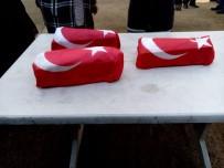BÜLENT ECEVİT ÜNİVERSİTESİ - Bir Gün Yaşayabilen Üçüzler Türk Bayraklı Tabuta Konuldu