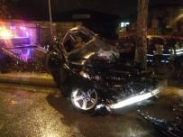 FEVZI ÇAKMAK - Denizli'de Trafik Kazası Açıklaması 1 Ölü, 3 Yaralı