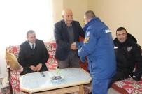 ŞEHİT BABASI - Dumlupınar'da Şehit Ailesine Ziyaret