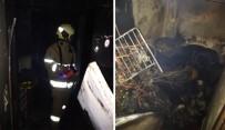 Elektrik Kontağından Çıkan Yangın Paniğe Sebep Oldu
