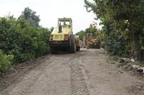 SARIYER - Erdemli'de Yol Bakım Çalışmaları Sürüyor