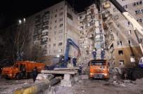 DOĞALGAZ PATLAMASI - Rusya'da Ölü Sayısı 18'E Yükseldi
